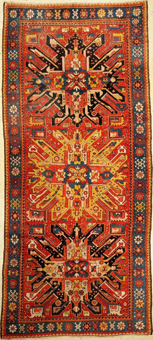 Eagle Kazak Rug, Caucasus, around 1900, wool on wool