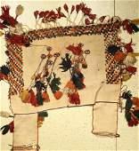Gashgai horse blanket, Persia, around 1930, wool on