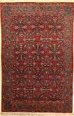 Kashan Rug Persia around 1940 wool on cotton