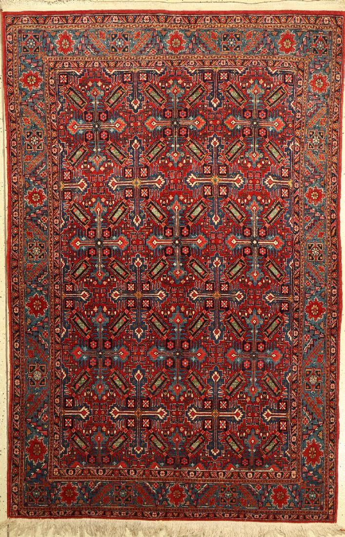 Kashan Rug, Persia, around 1940, wool on cotton