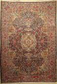 Kirman, Persia, approx. 40 years, wool on cotton