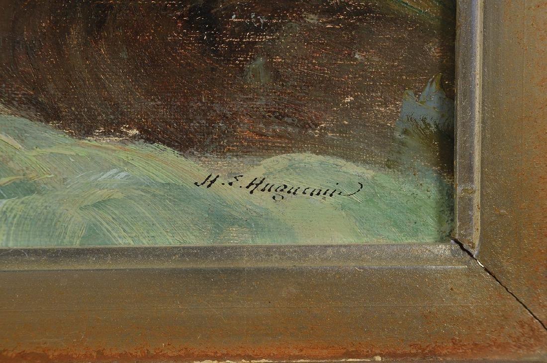 Henry Edouard Huguenin, 1878-1958, mountainouslandscape - 2