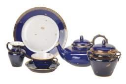 tea set Sevres Manufacture Nationale France