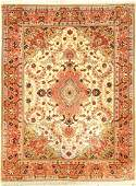 Tabriz 'Part Silk' rug fine, (50 RAJ), Persia,approx.