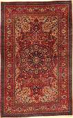 Mesched rug old, Persia, around 1930, wool on cotton