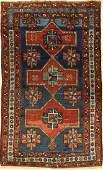Armenian Kasak rug antique, Caucasus, around 1900, wool