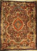 Kashmar carpet old, Persia, approx. 60 years, wool on