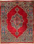 Mesched 'Kafi' carpet Old Signed, Persia, around 1950