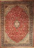 Kerman carpet old Persia approx 60 years wool on