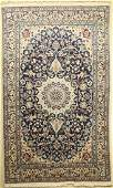 Nain rug, Persia, approx. 40 years, wool on cotton
