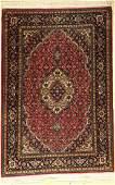 Tabriz rug fine, Persia, approx. 40 years, cork wool