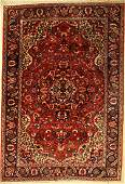 Bachtiar carpet old, Persia, approx. 60 years,wool on