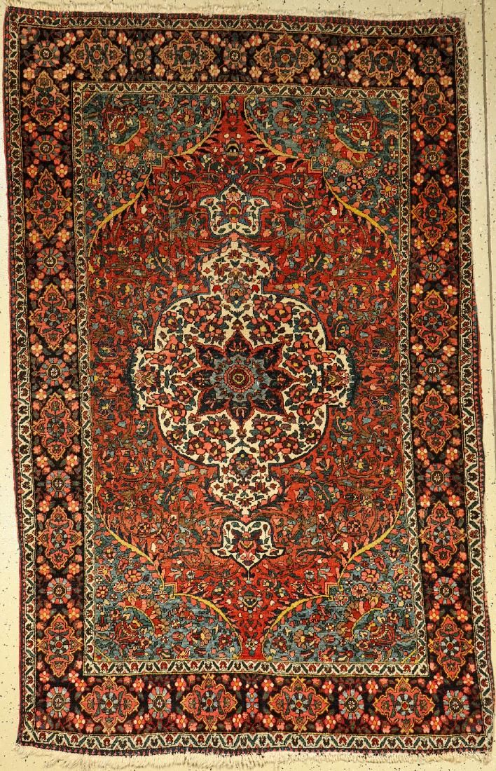 Bakhtiar rug old, Persia, around 1920, wool oncotton