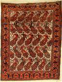 Afshar rug old, Persia, around 1910/1920, woolon cotton
