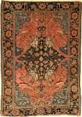 Farahan Rug Persia around 1890 wool on cotton