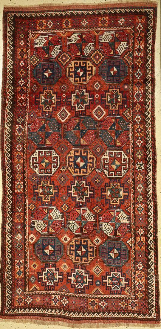 Kordi rug old, Persia, around 1930, wool on wool