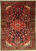 Lilian rug old, Persia, approx. 50 years, woolon cotton