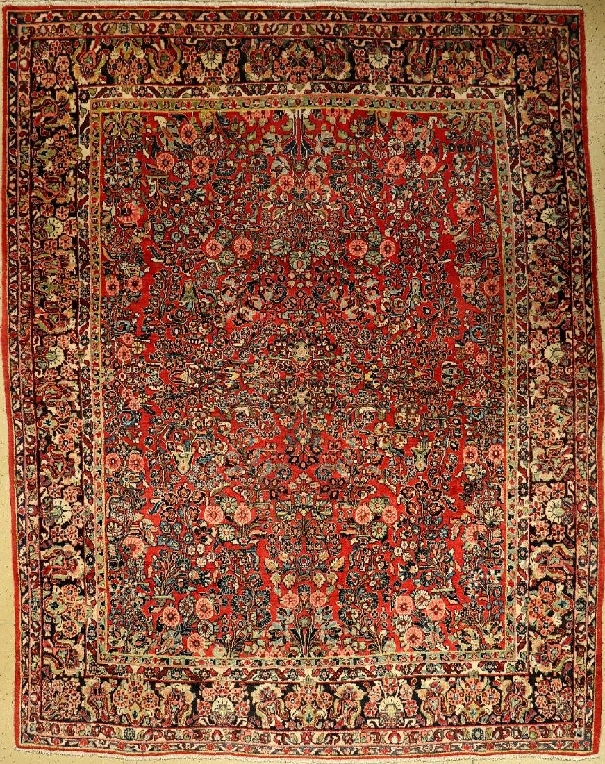 Saruk carpet, Persia, around 1940, wool on cotton