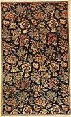 Qum rug, Persia, approx. 50 years, wool on cotton