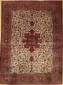Keschan carpet old Persia around 1940 woolapprox