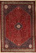 Abadeh rug Persia approx 40 years wool on cotton