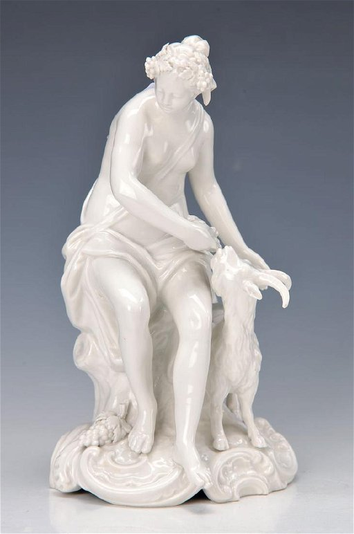 figurine, KPM Berlin, 1915, allegory on the autumn