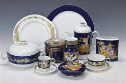 extensive Dinner coffee and tea set Rosenthal