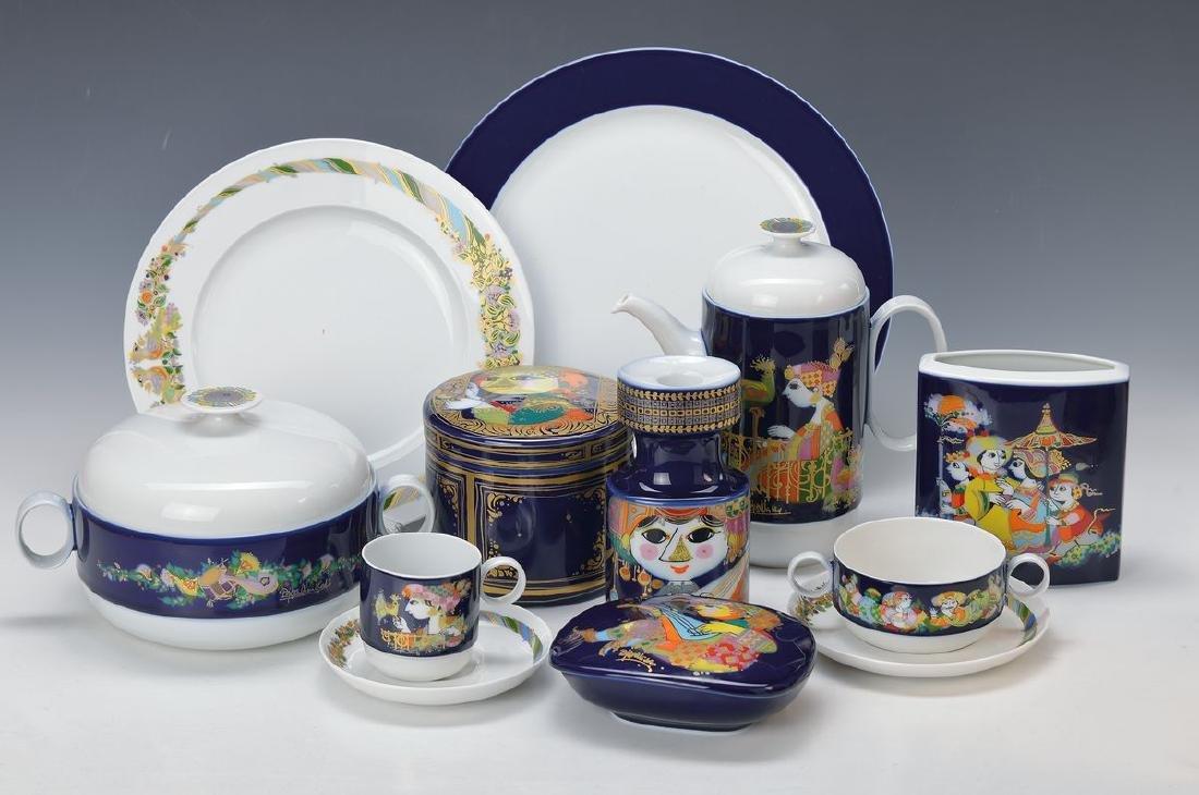 extensive Dinner-, coffee- and tea set, Rosenthal