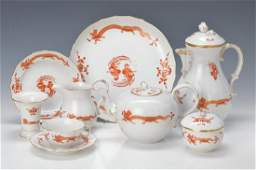 tea and coffee set Meissen Middle of 2H20Jh