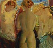 Lois Gruber, painter of the early 20th century, the
