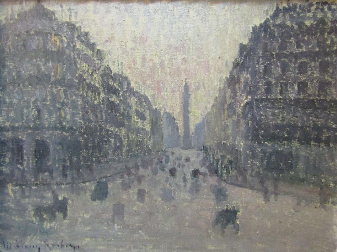 Unidentified artist, France, around 1920, Viewfrom - 3