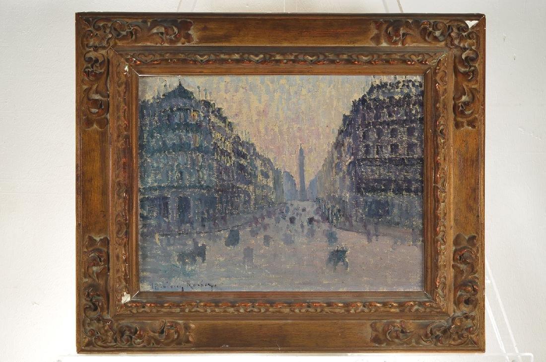 Unidentified artist, France, around 1920, Viewfrom - 8