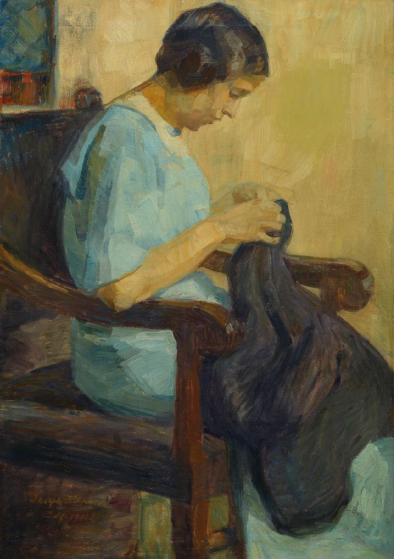 Josef Hansen, born 1871 Elberfeld, Studies at the