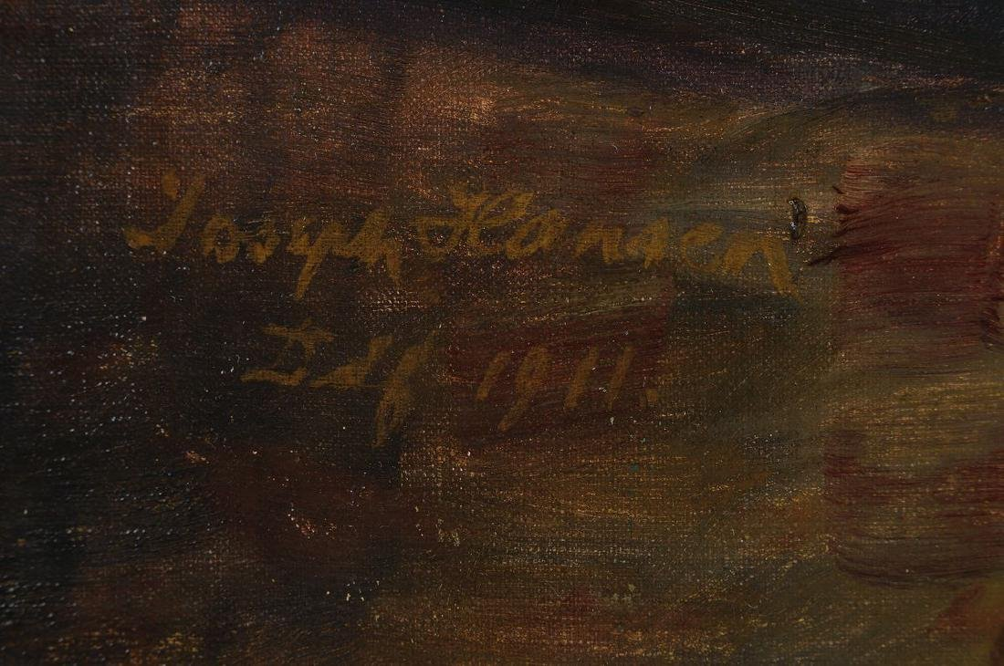 Josef Hansen, born 1871 Elberfeld, Studies at the - 2