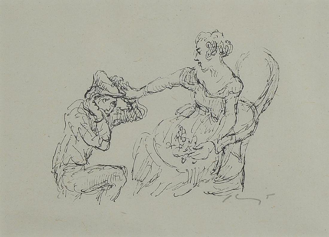 Max Slevogt, 1868-1932, three lithographs, twoof which
