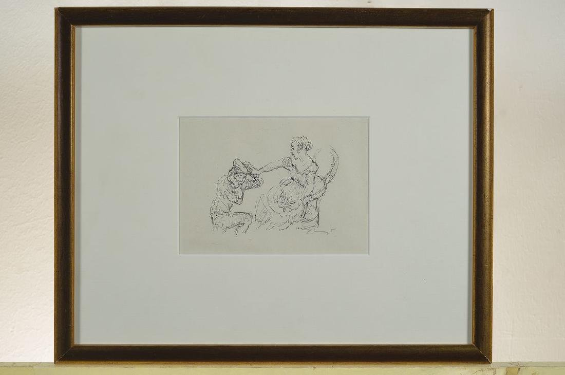 Max Slevogt, 1868-1932, three lithographs, twoof which - 3