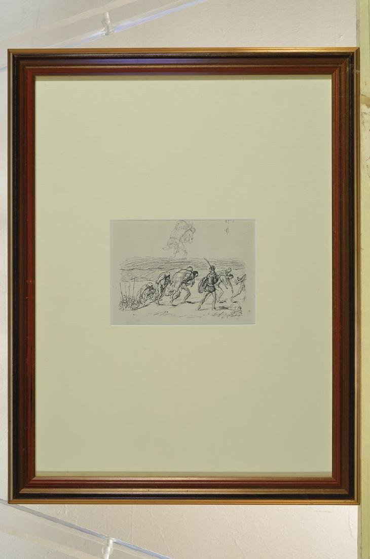 Max Slevogt, 1868-1932, three lithographs, twoof which - 4