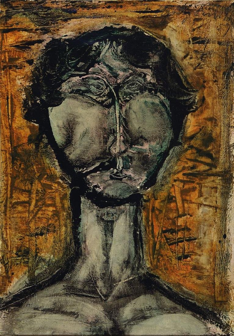 Heinz Knoke, 1922 Hannover - 1991, portrait
