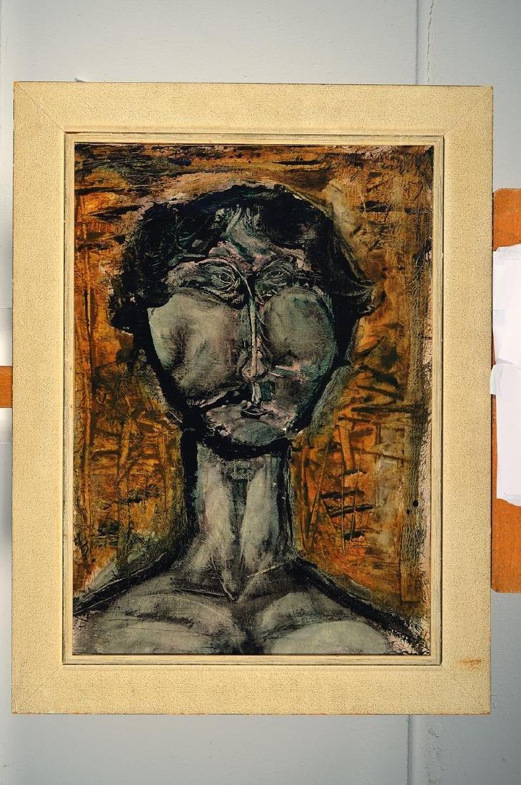 Heinz Knoke, 1922 Hannover - 1991, portrait - 2