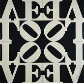 Robert Indiana, Love Rising/Black and white Love (for