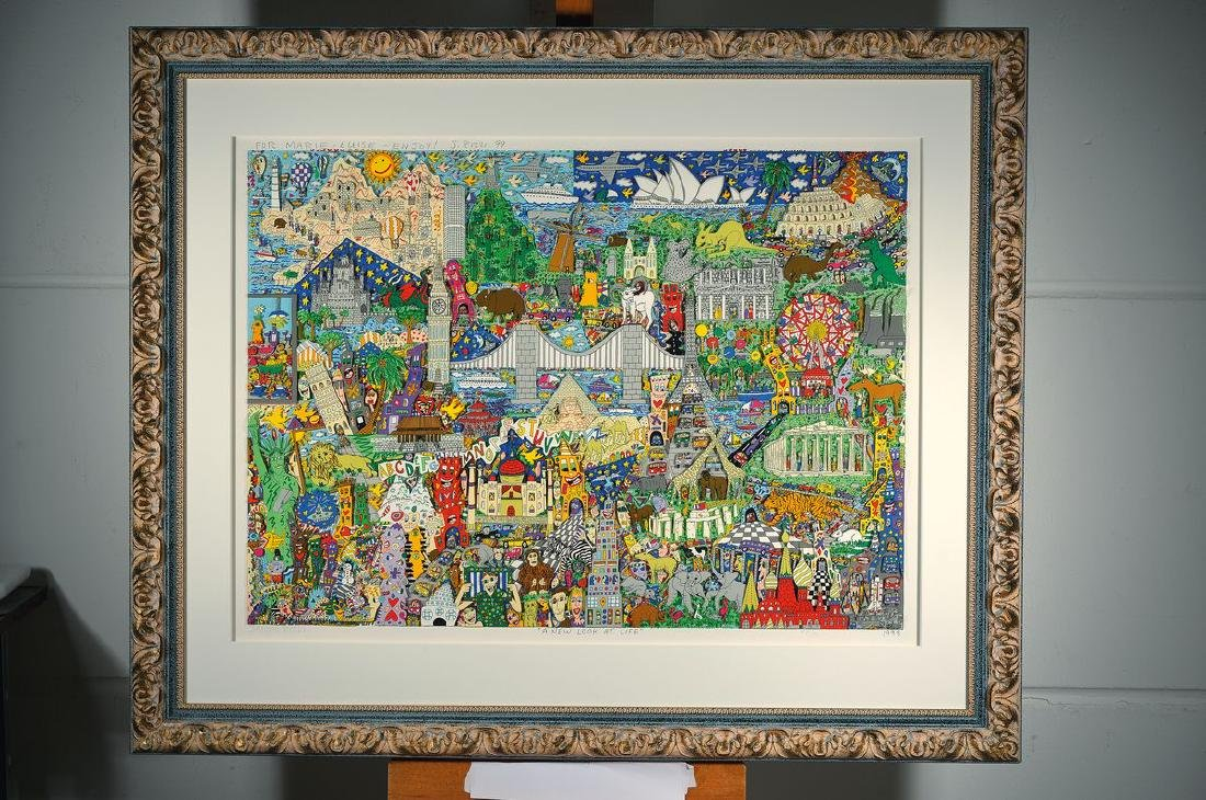 James Rizzi, 1950-2011 New York, A new Look atlife, 3-D - 2
