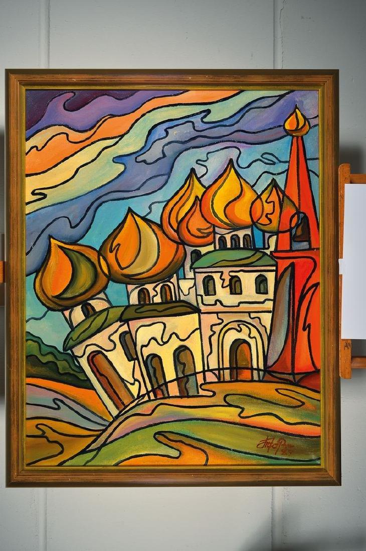 Witaly Tchorshewsky, born 1949 Moskau, Golden cupolas, - 2