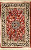 Fine Isfahan 'Part-Silk' Rug,