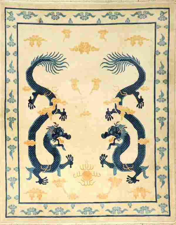 Chinese 'Dragon Rug',