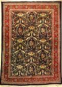 Fine Tabriz Carpet (Mostowi Design) 'Signed',
