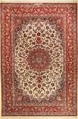 Fine Isfahan 'Emadi' Carpet (Signed),