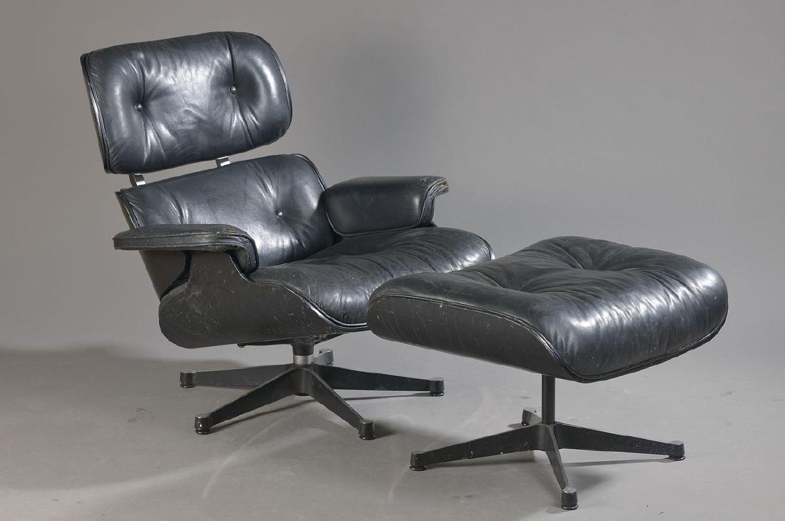 Lounge chair and Ottoman, Charles and Ray Eames