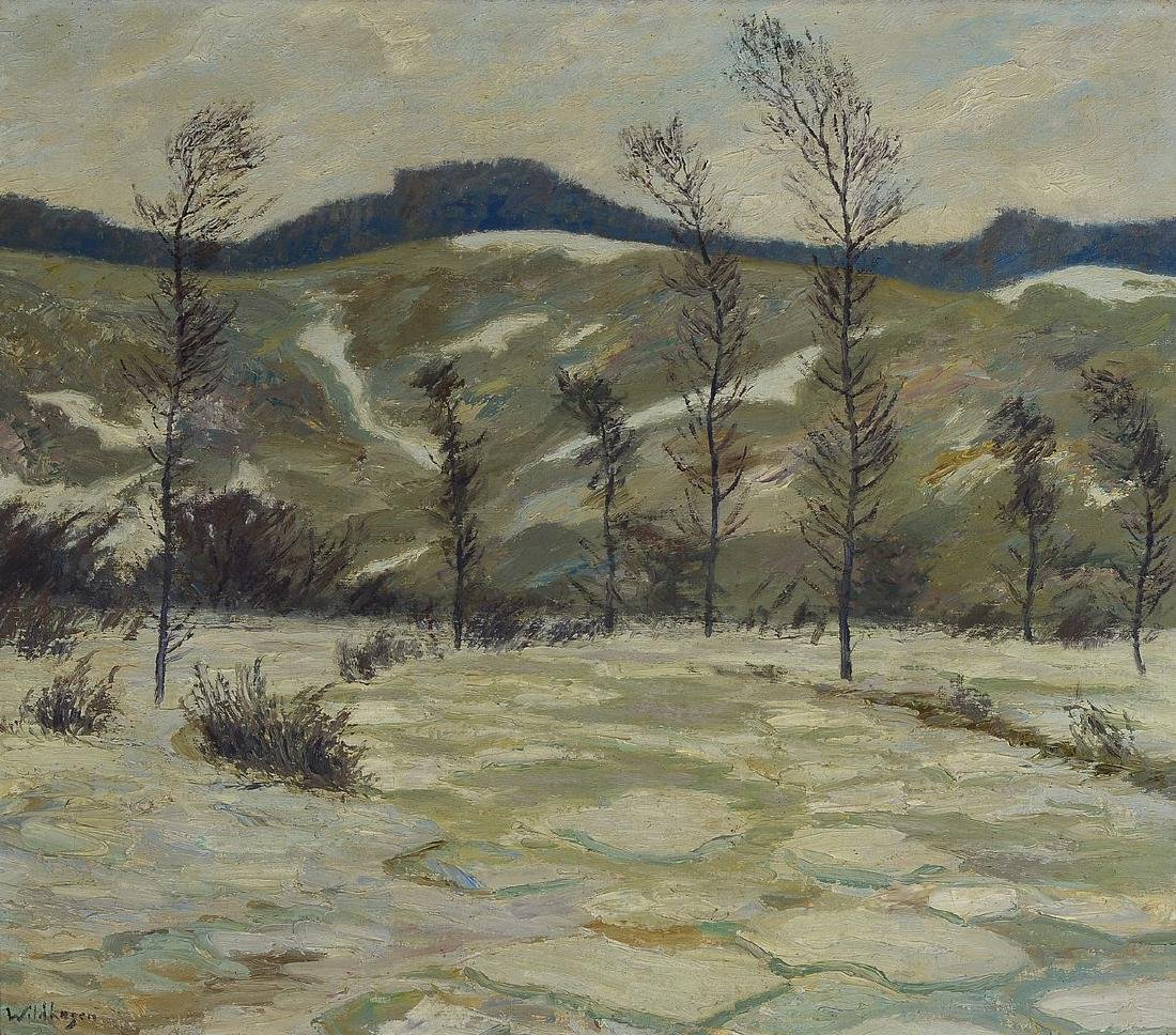 Fritz Wildhagen, 1878 Moscow - 1956 Holte Castle