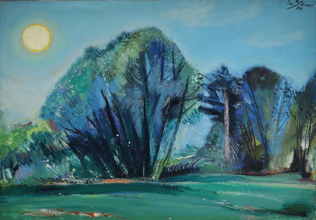 Josef Steiner, 1899-1977 Munich, German painter
