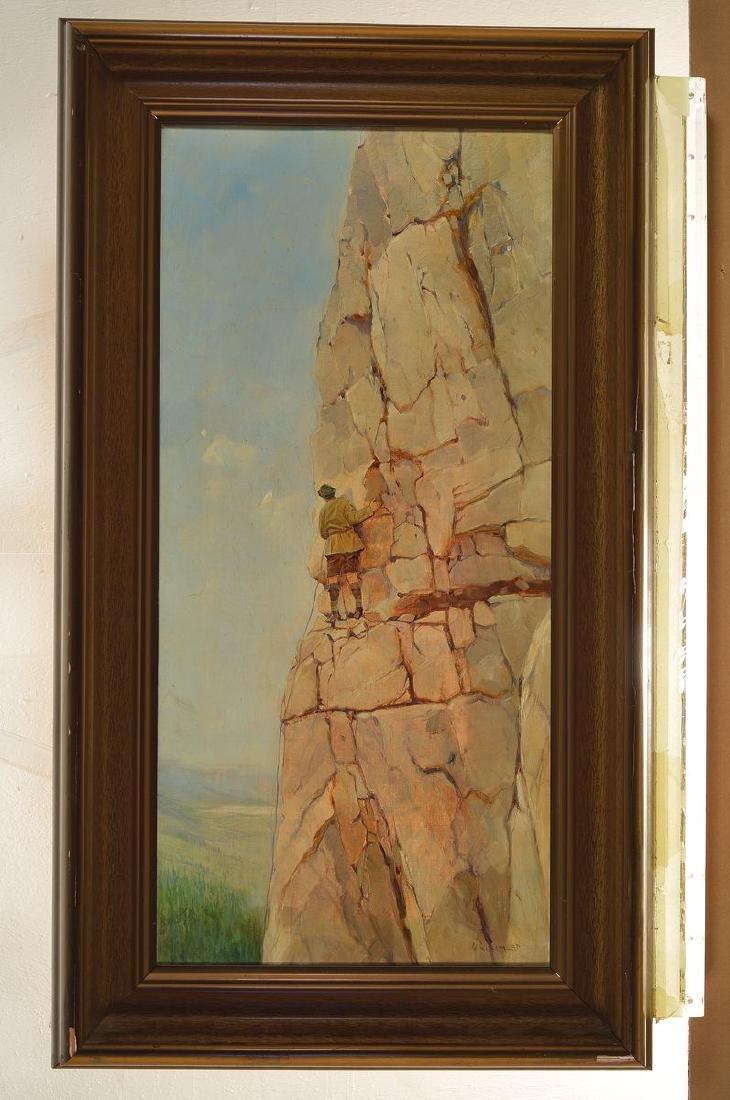 W. Huschert, German painter of the first half of the - 3